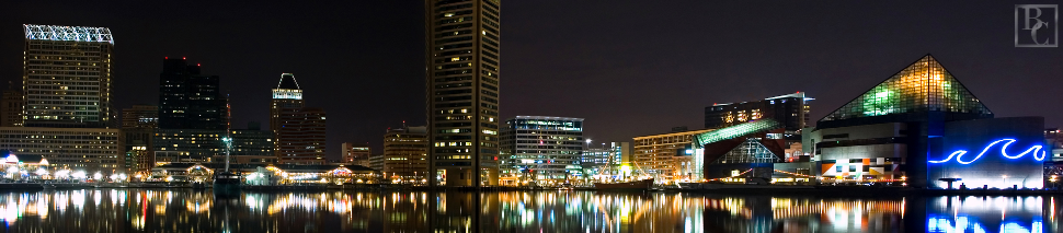 baltimore-maryland-real-estate-nighttime-with-light-watermark